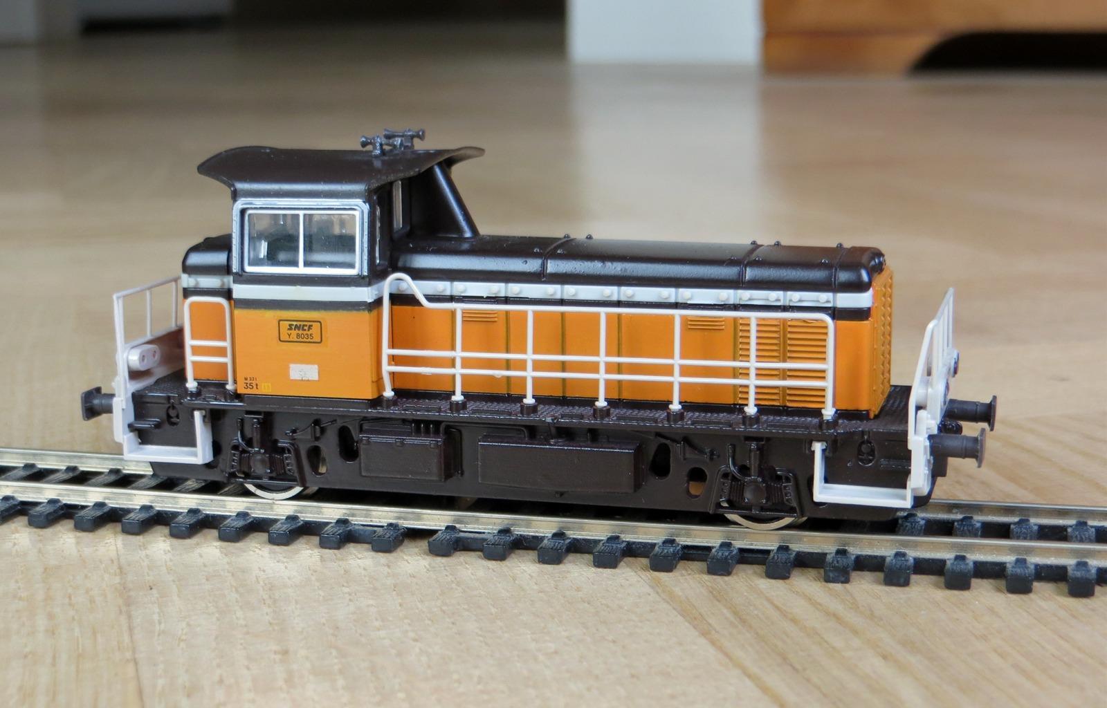Roco 43475 - Locotracteur Y 8000 - Les trains miniatures ...