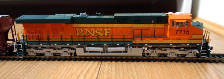 InterMountain 49721 - BNSF GEVO ES44DC