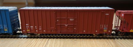 Walthers 932-7118 - 50' Gunderson hi-cube paper boxcar
